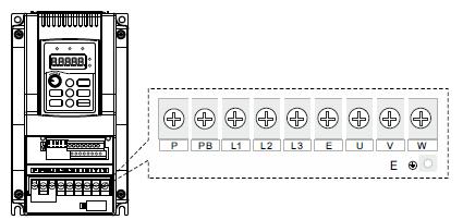 Преобразователь частоты INSTART SDI-G1.5-4B схема подключения клемм