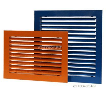 Вентиляционные решетки однорядные ГАЛ-1Р