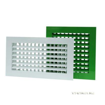 Вентиляционные решетки двухрядные ГАЛ-2Р