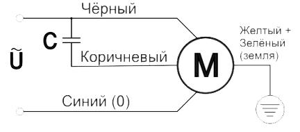 Вентиляторы ВКВ схема подключения
