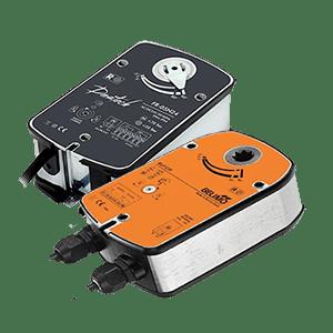 Электроприводы для клапанов вентиляции