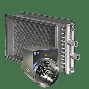 Канальные нагреватели воздуха