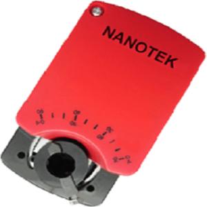 Электроприводы Nanotek для воздушных клапанов без возвратной пружины