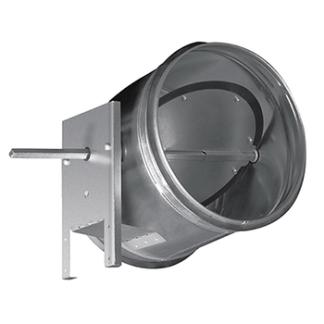 Воздушные клапаны круглые с электроприводом