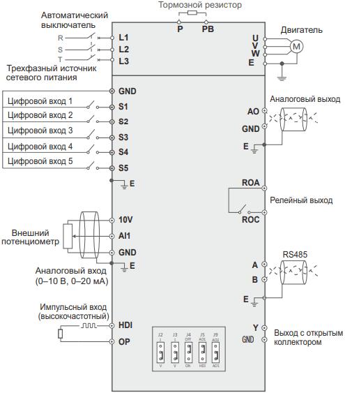 Частотный преобразователь SDI-G4-4B