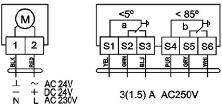 Схема подключения Nanotek BLF230