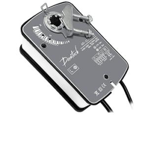 Электроприводы Dastech для воздушных клапанов с возвратной пружиной